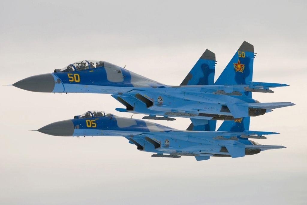 Учебно-боевой истребитель Су-27УБМ2