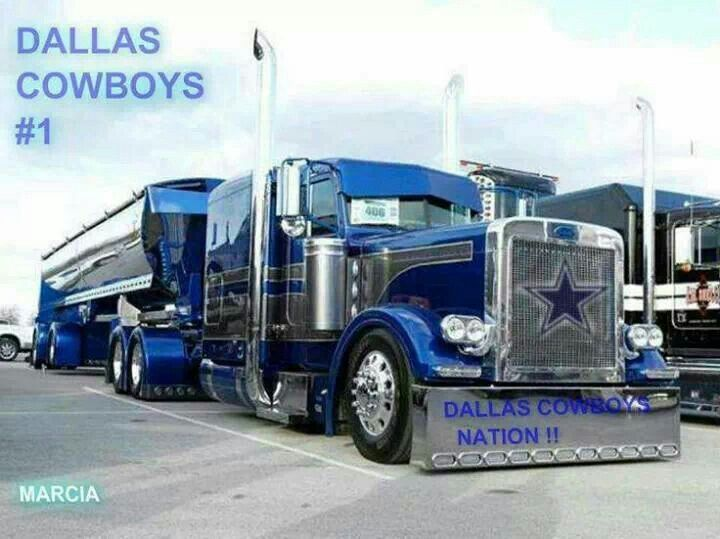 If I Were A Trucker I D Want This Truck Dallas Cowboys Dallas Cowboys Football Cowboys Car