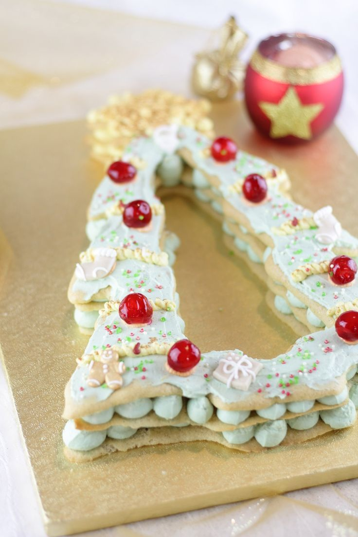 Christmas Tree Cake - Die weihnachtliche Variante vom Letter Cake