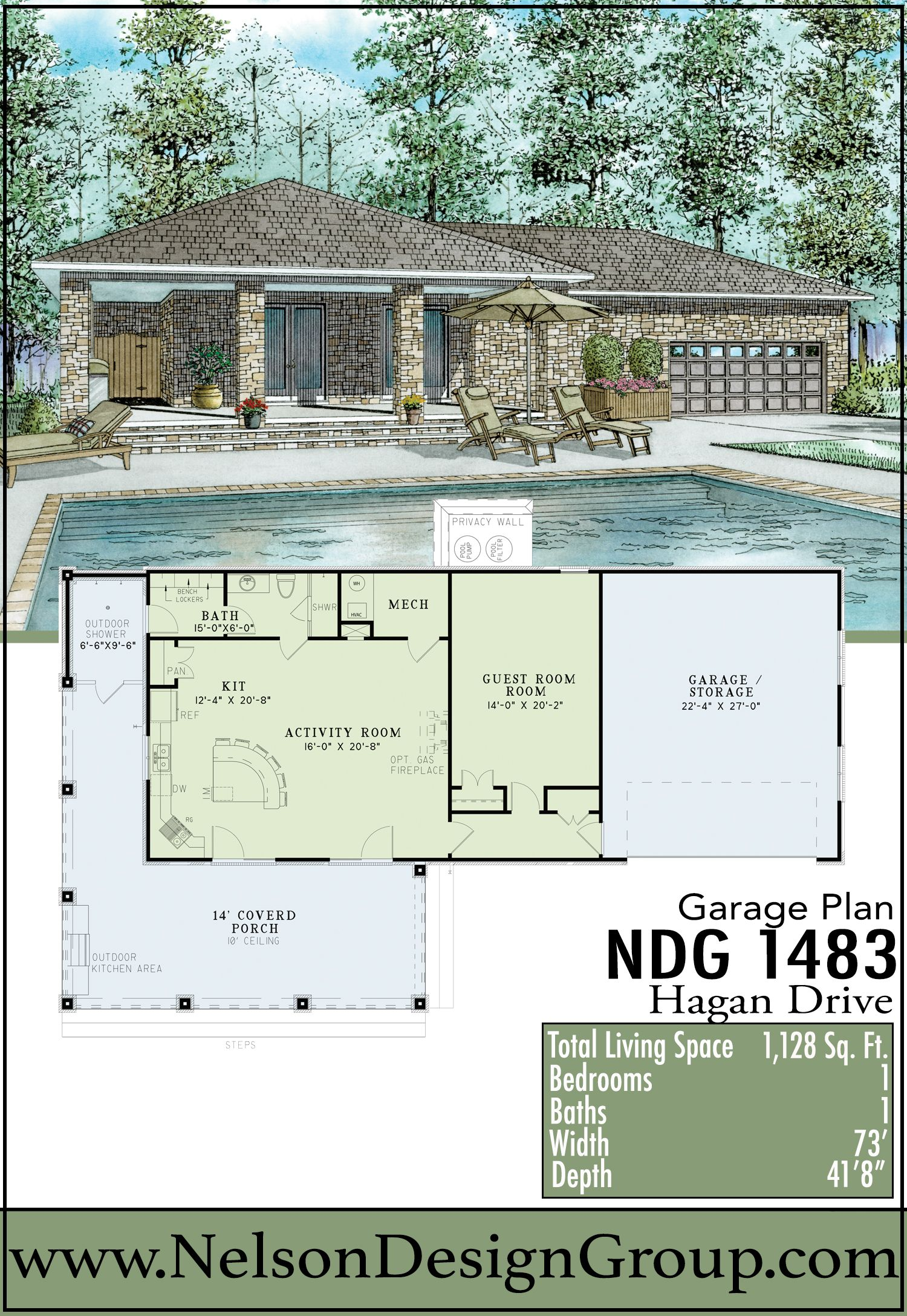 Garages Pool Poolhouse Homeplans Houseplans Homes Houses Loftstyle Drive Pool House Pool Houses Pool House Plans