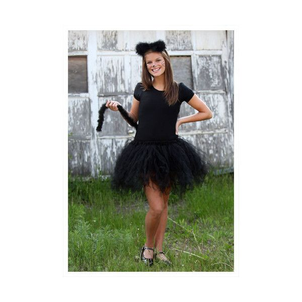 Teen Tutu Cat Costume ($39) ? liked on Polyvore  sc 1 st  Pinterest & Teen Tutu Cat Costume ($39) ? liked on Polyvore | holiday decor ...