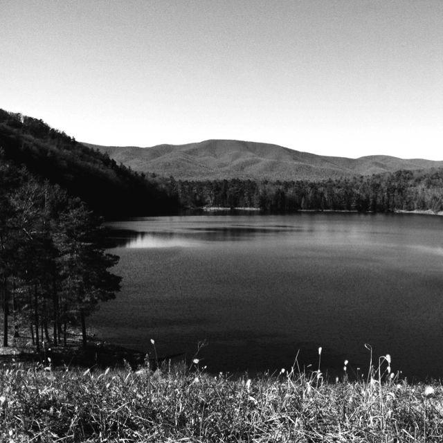 Elkhorn lake, Virginia, photo by Julie Owens