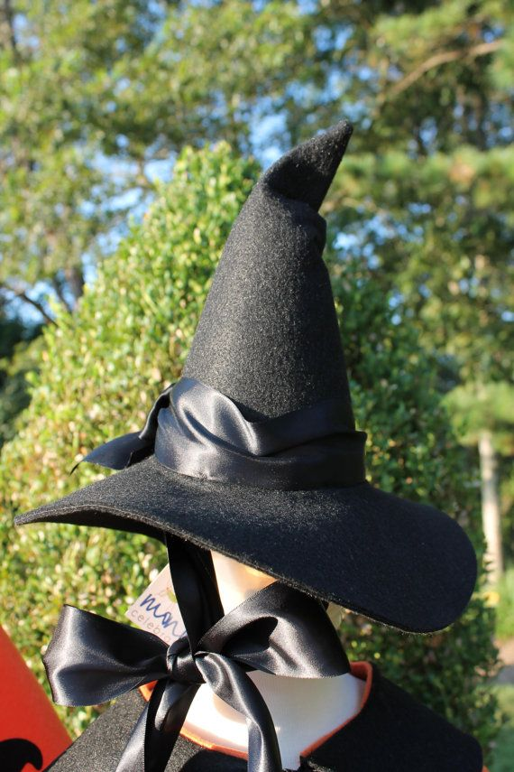 Great Esty shop for witch hats & kids costumes!  I'm going to have her make me an adult version - like the Wicked Witch of the West wore in The Wizard of Oz movie!  She's going to make it in the same size as one of original hats worn in the film!  I can't wait!