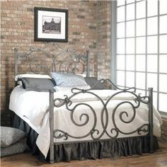 17 best images about wood metal beds on pinterest queen bed frame with metal headboard