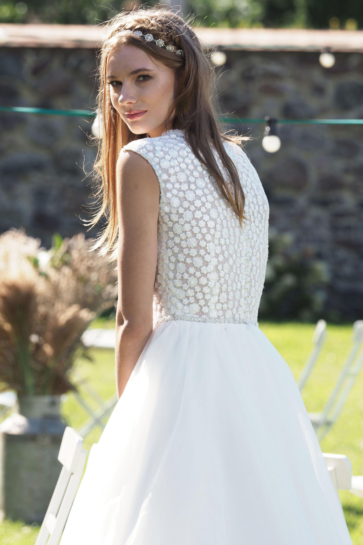 Modell Skyler 824 Silk Lace Hochzeitskleider Wir Haben Viele