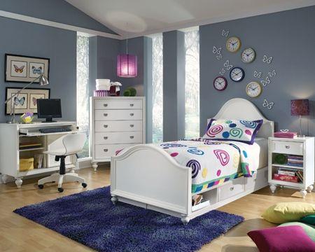Elite Zoe Youth Bedroom Sku 9904258 Bedroom Furniture
