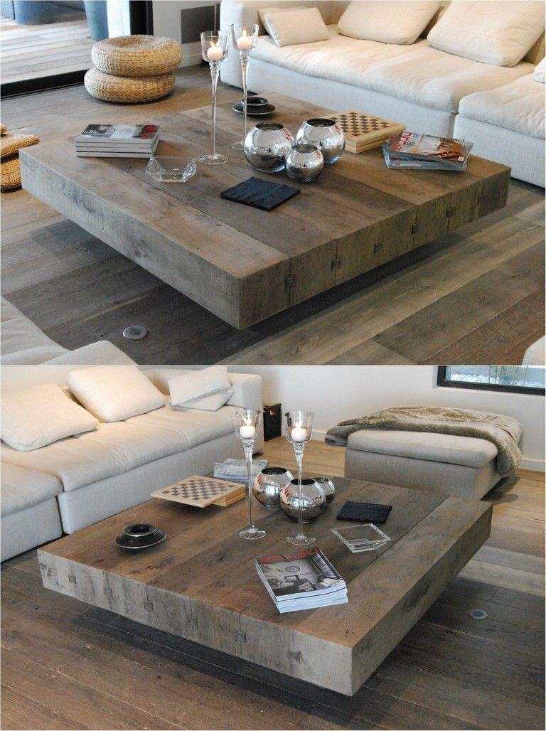 Diy 40 Optimum Coffee Tables You Ll Love Diyfurniture Diyfashion Furnituredesign Coffee Table Wood Coffee Table Square Coffee Table [ 1028 x 768 Pixel ]