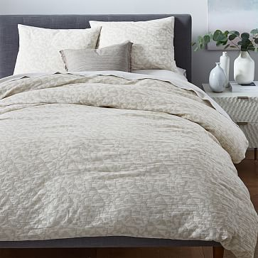 tossed geo duvet full queen natural canvas duvet master bedroom