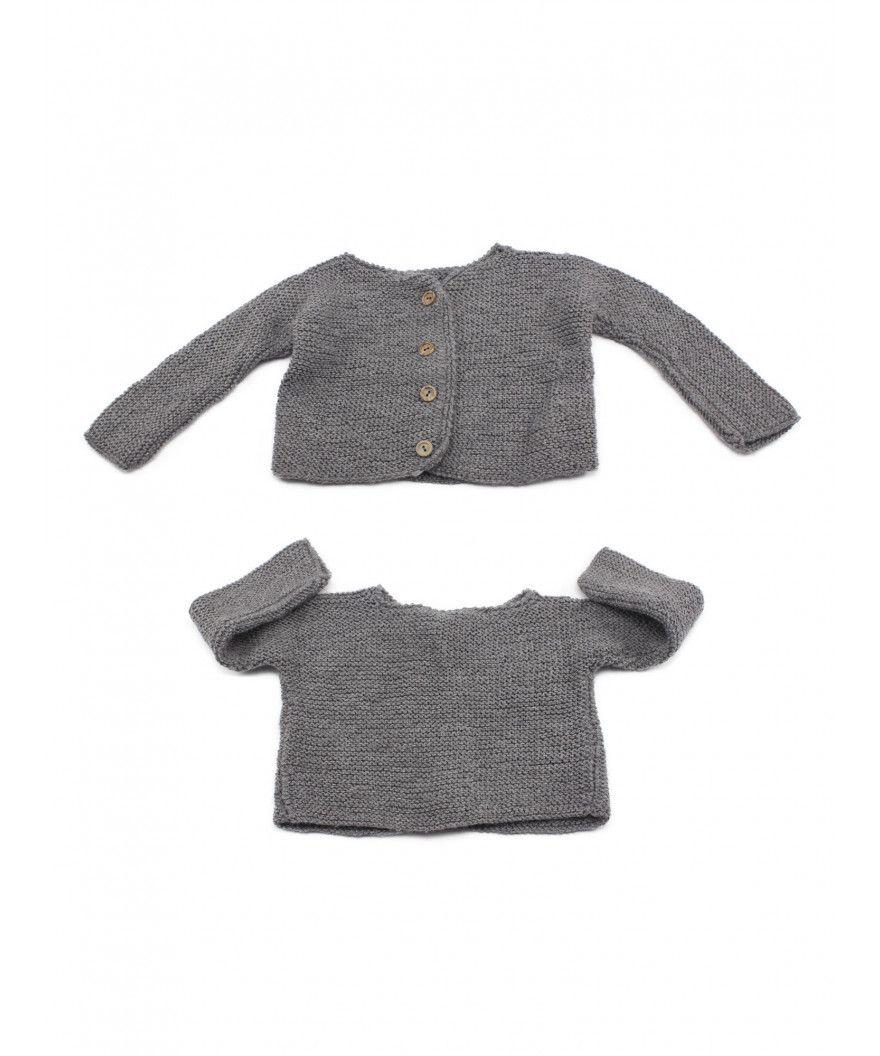 Chaquetita de lana para bebé en 3 tallas  9 meses 0851d0cdaf2