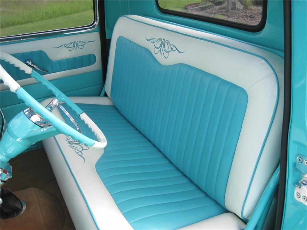 1950 Chevrolet Short Box Pickup Barrett Jackson Auction