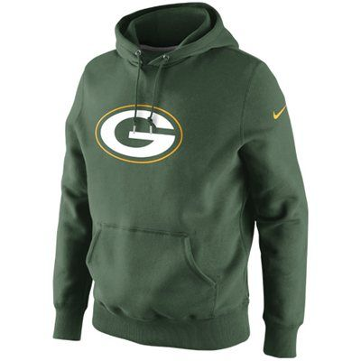 Nike Green Bay Packers Classic Logo Pullover Hoodie Sweatshirt kinda sorta  like this ccf56ce03