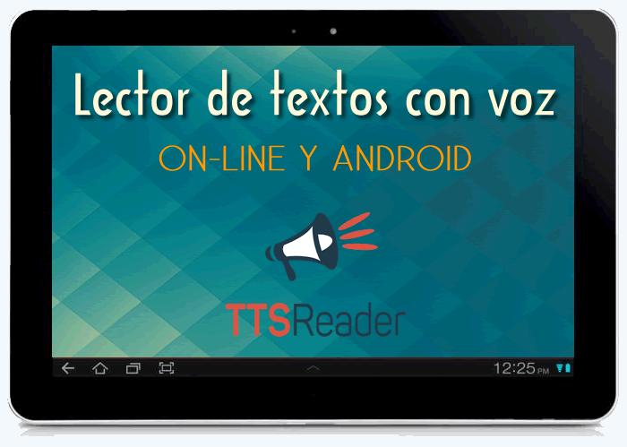 Ttsreader Lector De Textos Con Voz Leertextos App Textos La Voz Lectores