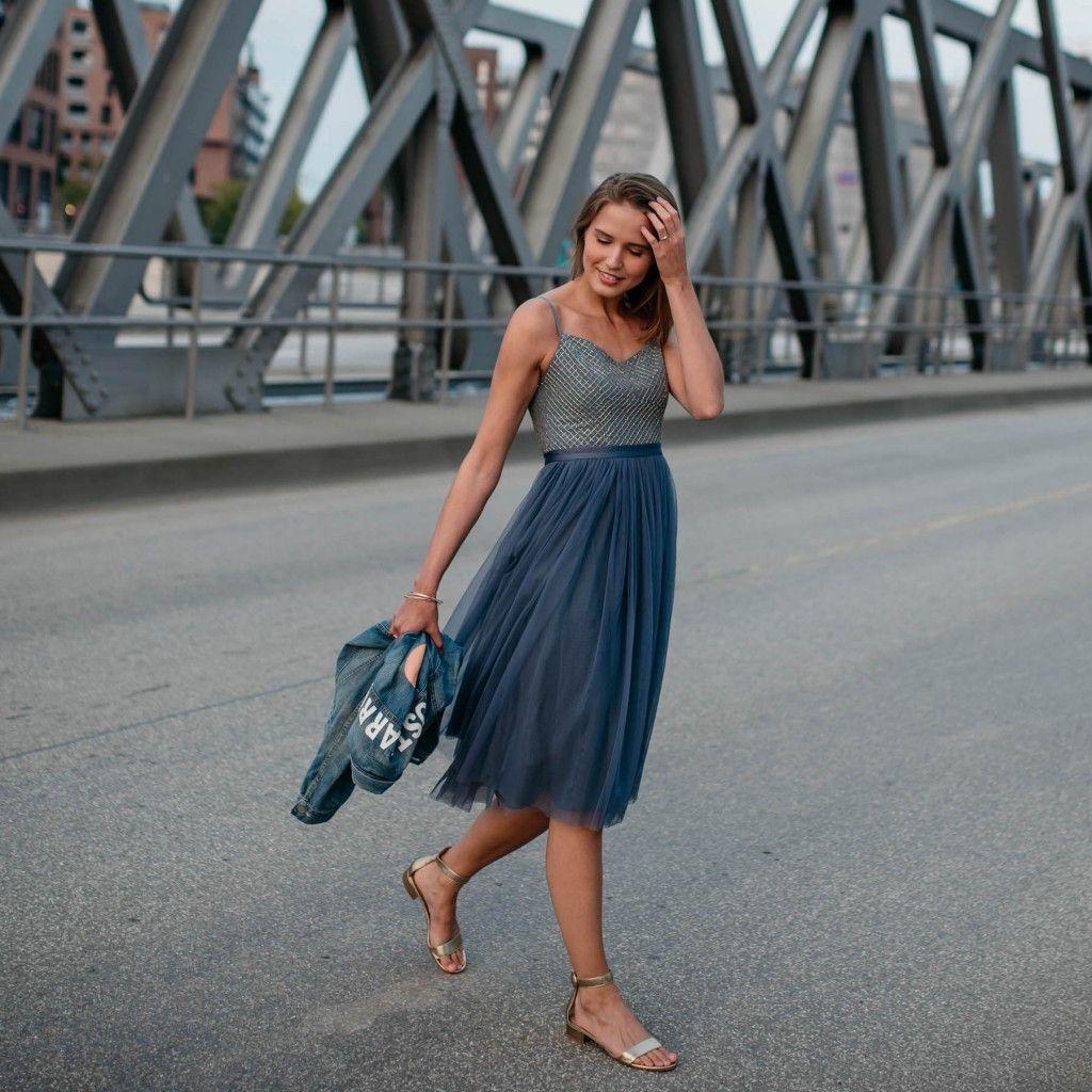 Das perfekte Cocktailkleid: Needle & Thread Kleid mit Tüllrock