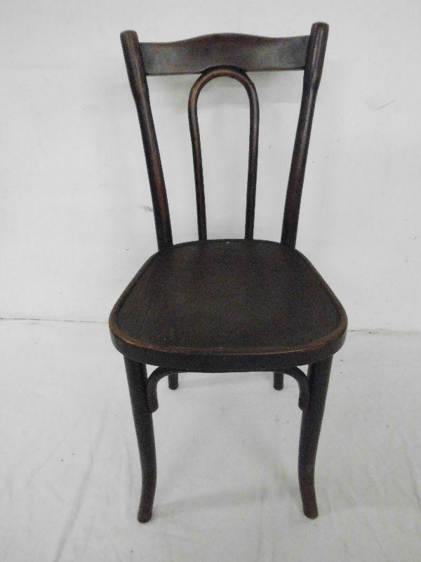 original thonet bugholzstuhl stuhl bistrostuhl kaffeehausstuhl antik um 1900 ebay thonet. Black Bedroom Furniture Sets. Home Design Ideas
