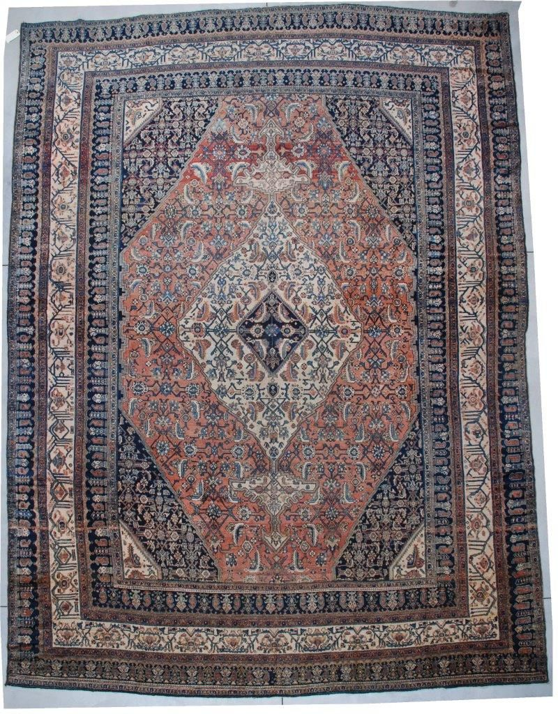 6760 Bibicabot Antique Persian Oriental Rug 12 6 X 16 7 Antique Oriental Rugs Oriental Persian Rugs Oriental Rugs Bedroom Persian Rug Bedroom