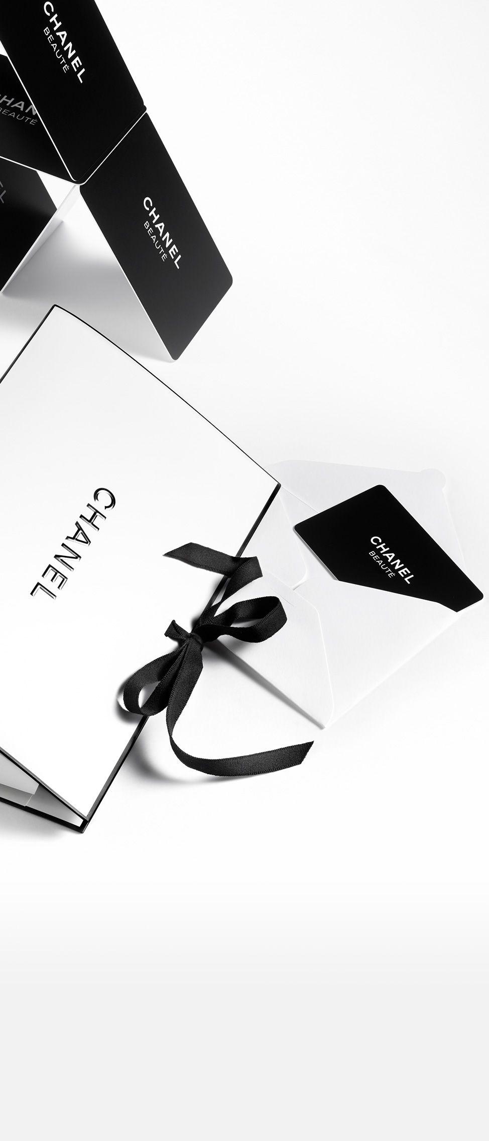 Carte Cadeau Chanel Site Officiel Et Boutique En Ligne Gift
