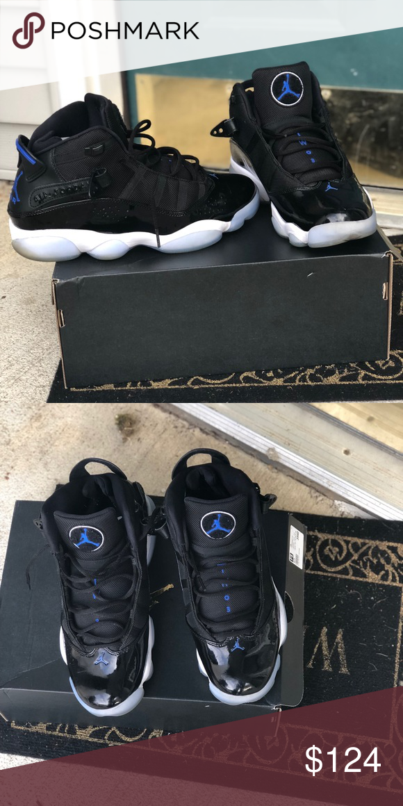 8cfc073ce81 Space Jams (6 rings) 9.5 Worn twice very good condition Jordan Shoes  Sneakers