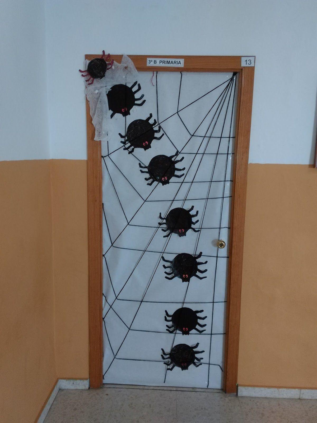 Primer ciclo ceip aljoxan halloween puertas for Puertas decoradas halloween
