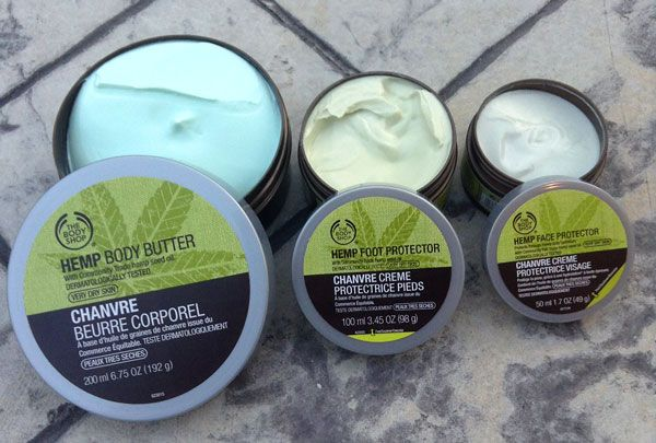 body shop hemp foot cream