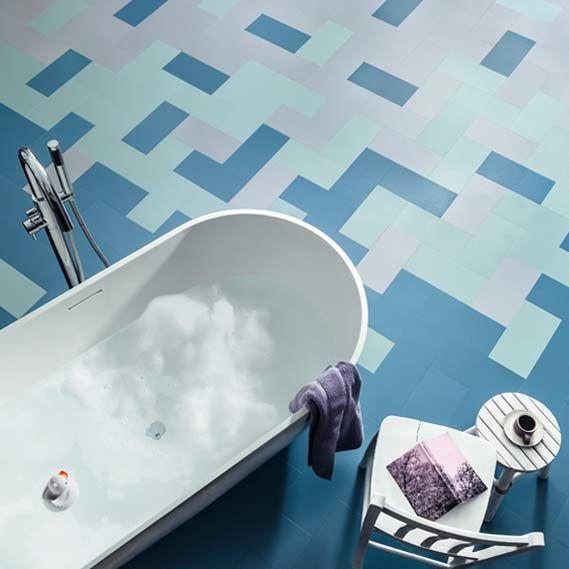 Vinyl Flooring - Modern Luxury LVT Vinyl Floor Tiles Harvey Maria