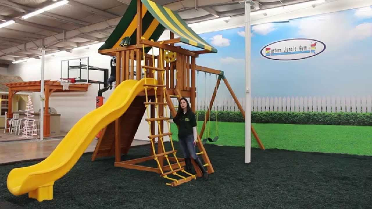 Sophisticated Ultimate Cedar Playset From Eastern Jungle Gym Is One Our Newestbackyard More Than Feet Our A Large Clubhouseand A Huge Ultimate Cedar Playset From Eastern Jungle Gym Is One