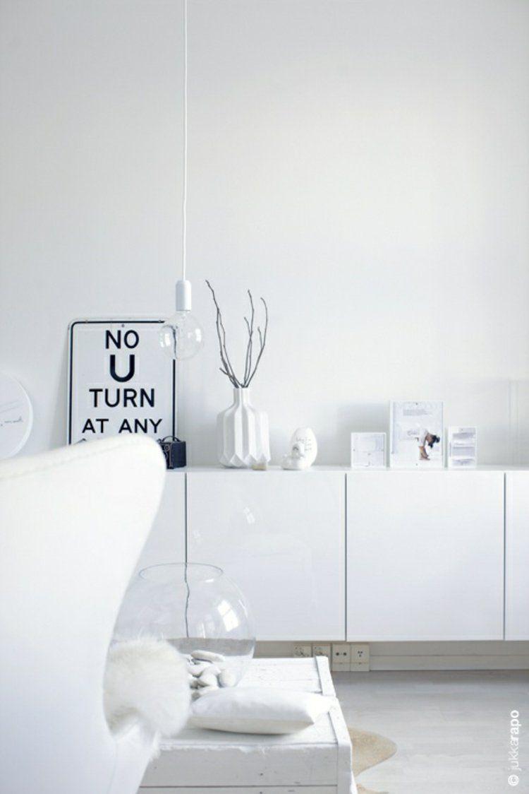 Büromöbel weiss ikea  Sideboards komplett weiß Ikea TV Möbel Besta   Sideboard ...