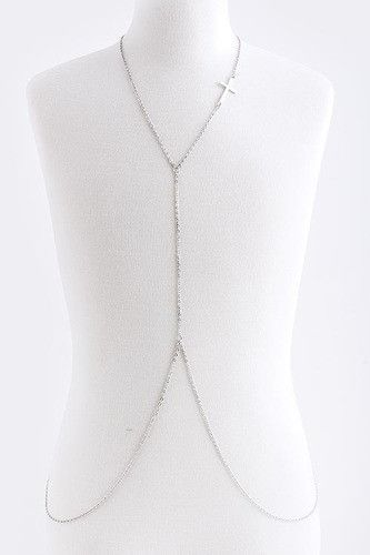 Silver Babe Body Chain