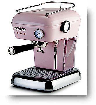 Ascaso Dream espresso machine Pink The Beanery. Buy