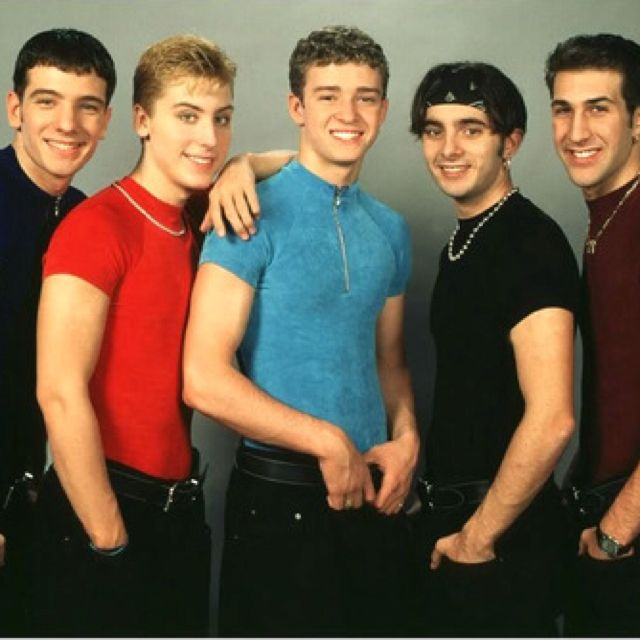 N'Sync in sync | 90s boy bands, Boy bands, Nsync