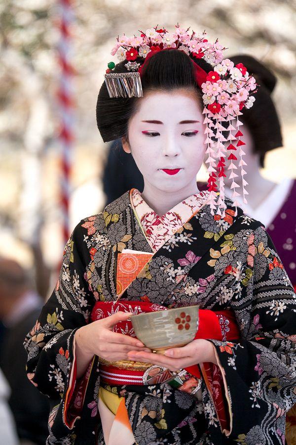 Baikasai 2016 Maiko Naokinu Source Kimono Japan Japanese Geisha Geisha Art
