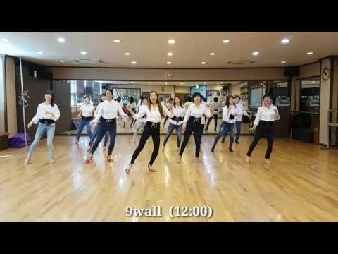 Over The Moon Line Dance(Absolute Beginner)Stephen Rutter& Claire Rutter - YouTube