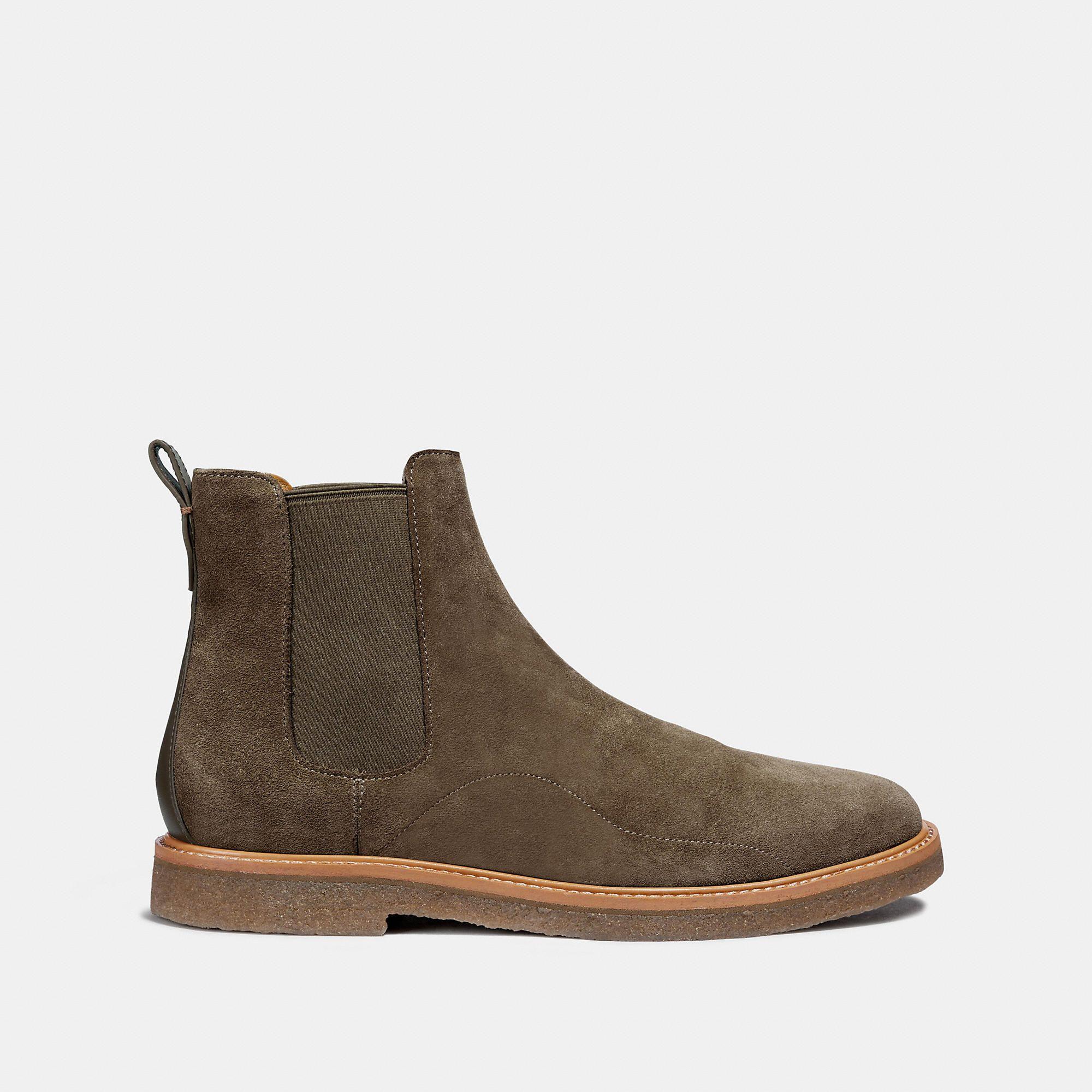 8059a85d0a6e COACH Men s Chelsea Boot