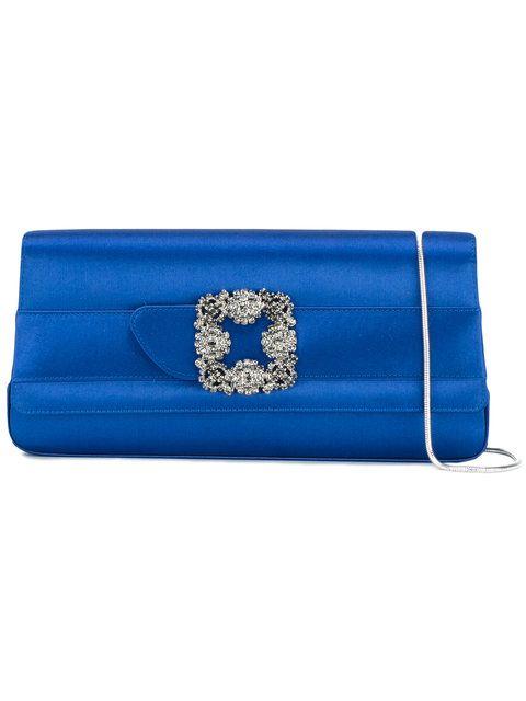 Manoloblahnik Bags Clutch Silk Crystal Hand Manolo Blahnik Pinterest Bag And Purses