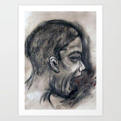 Scream #29 Art Print by Yousef Balat @ Hoop Snake Graphics LLC - $17.00