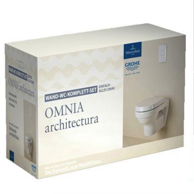 Komplett Neu Villeroy & Boch Villeroy & Boch Omnia Architectura Wand WC Keramik  MV56