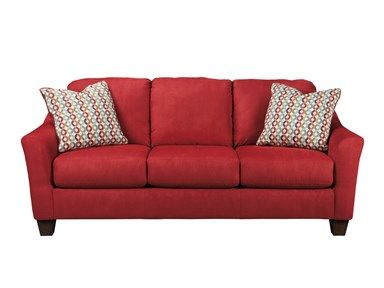 Shop For Signature Design Contemporary Sofa And Other Living Room