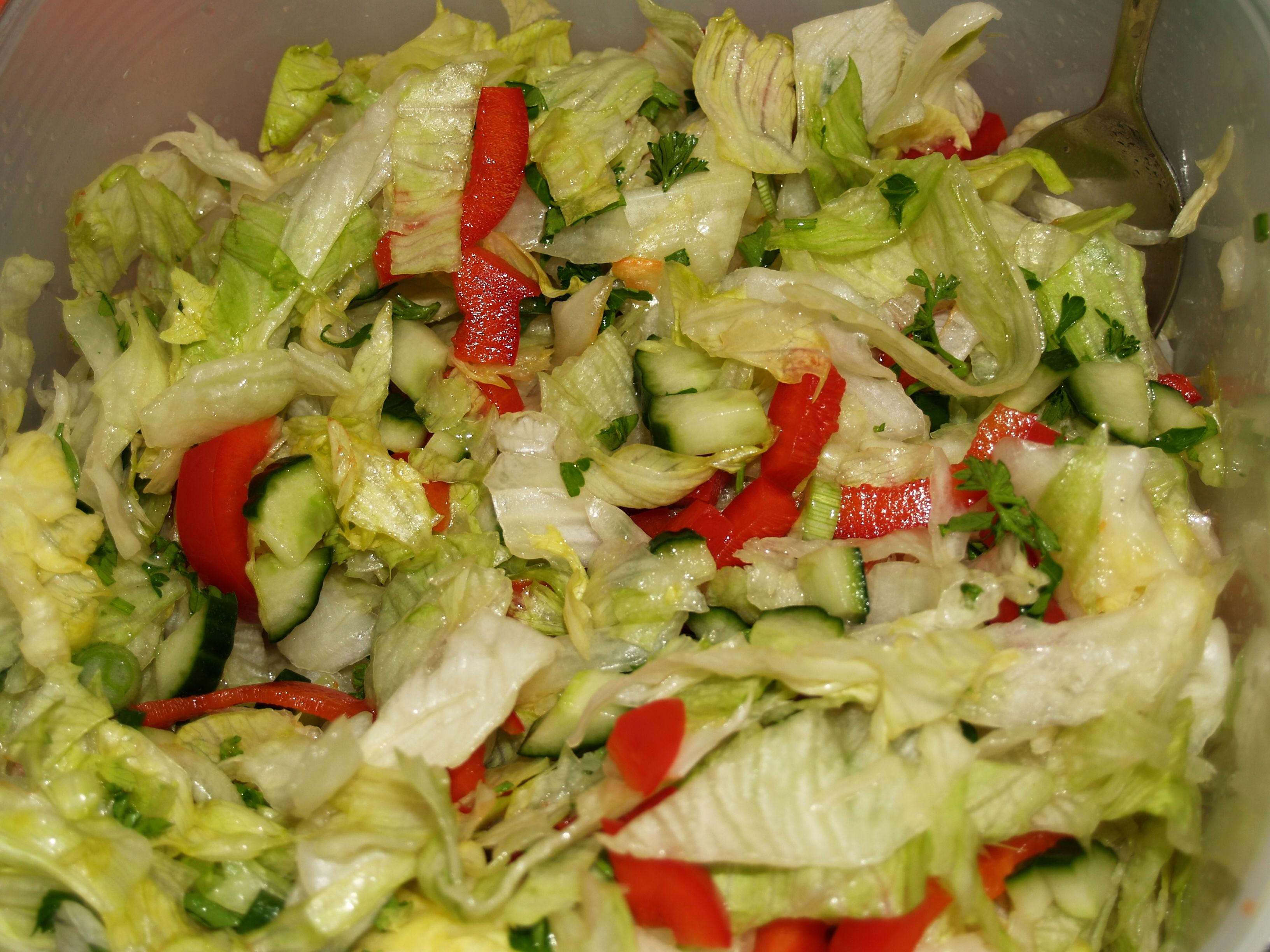 Náš zeleninový - ledový salát