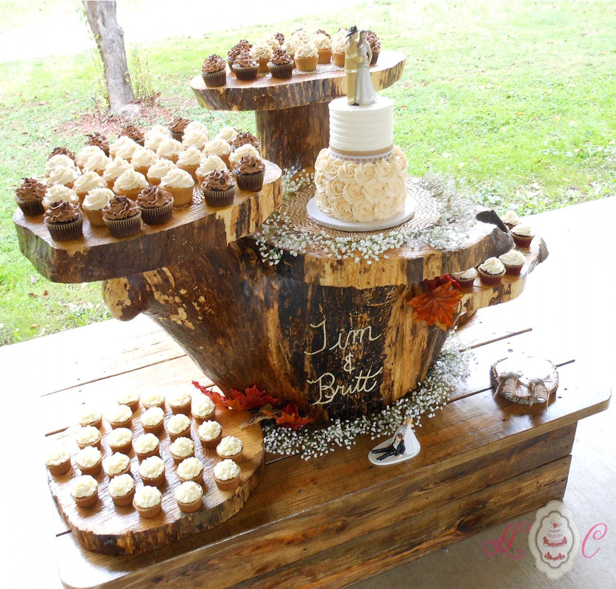 7 Facts You Never Knew About Rustic Wedding Cakes And