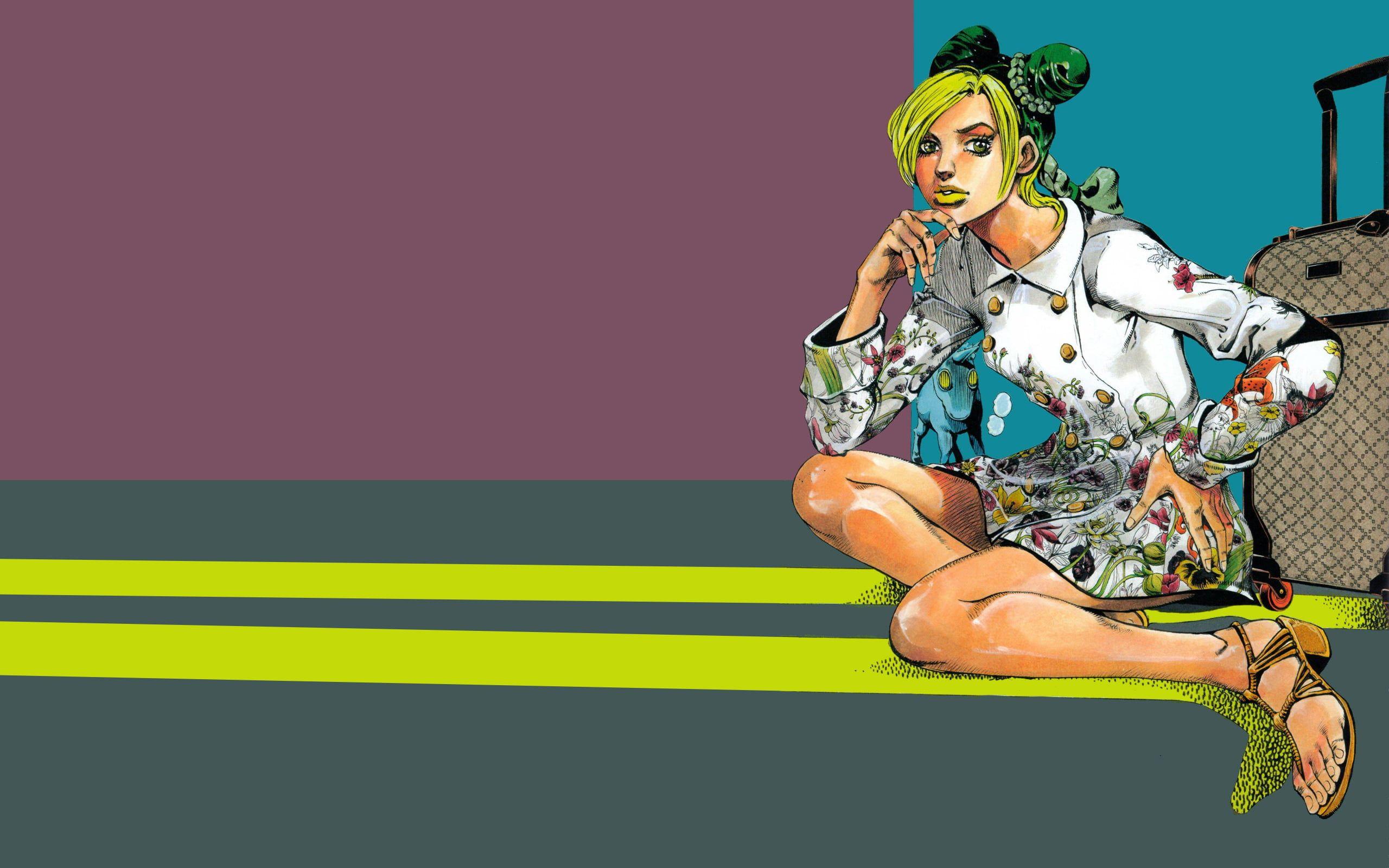 Jojo S Bizarre Adventure Anime Manga Hirohiko Araki Jolyne Cujoh 2k Wallpaper Hdwallpaper De In 2020 Jojo S Bizarre Adventure Jojo Bizarre Jojo Bizzare Adventure
