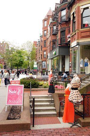 Shoe Shops Newbury Street Boston