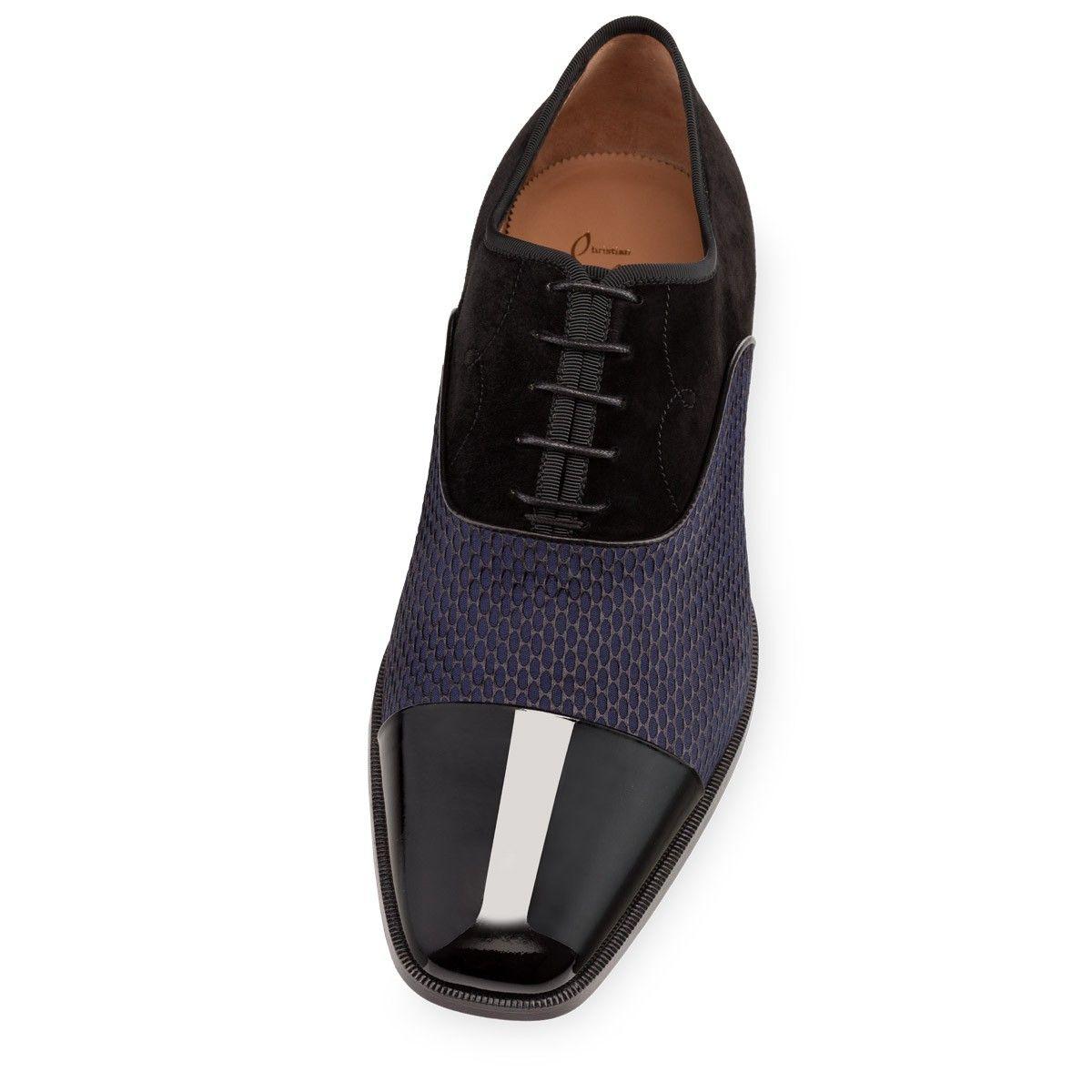 27920f73fc6ade Christian louboutin Olympio Flat in Blue for Men (black)