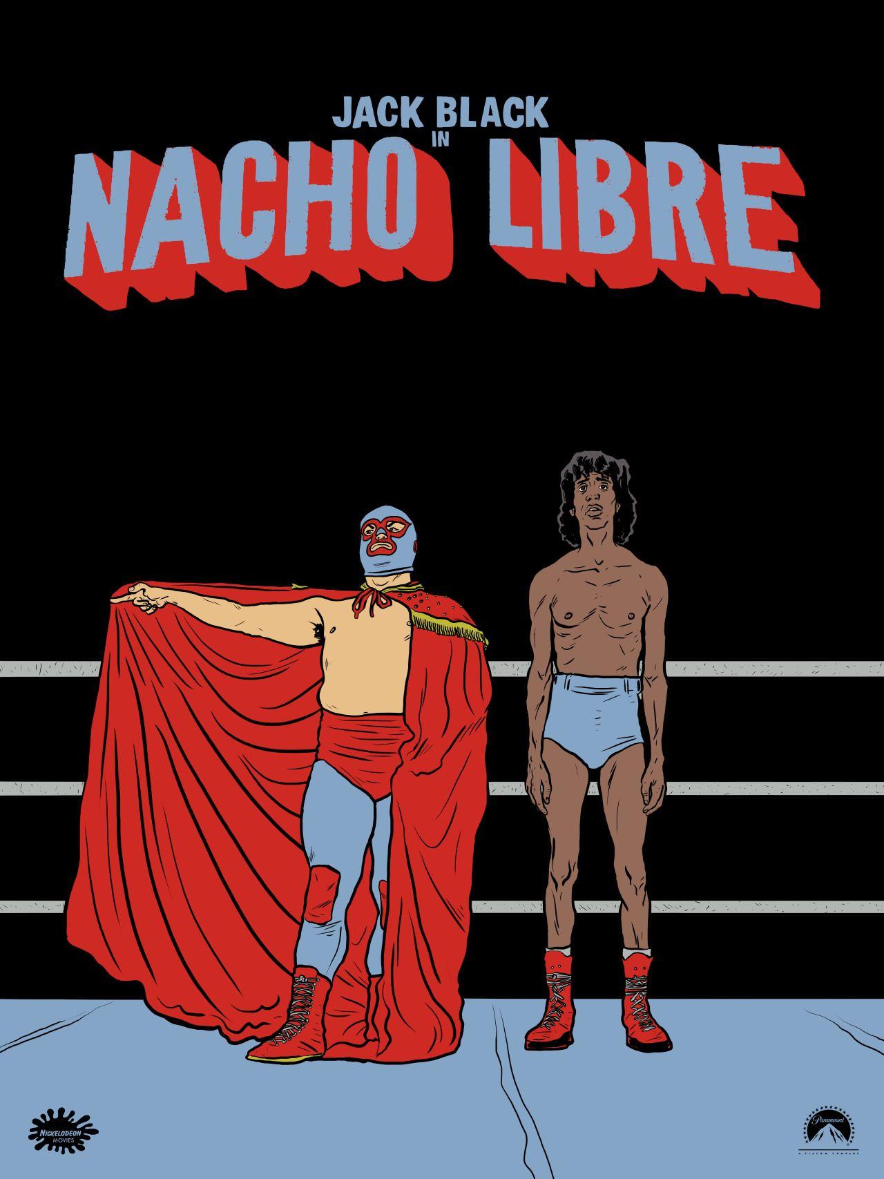 2000 now nacho libre movie poster 2