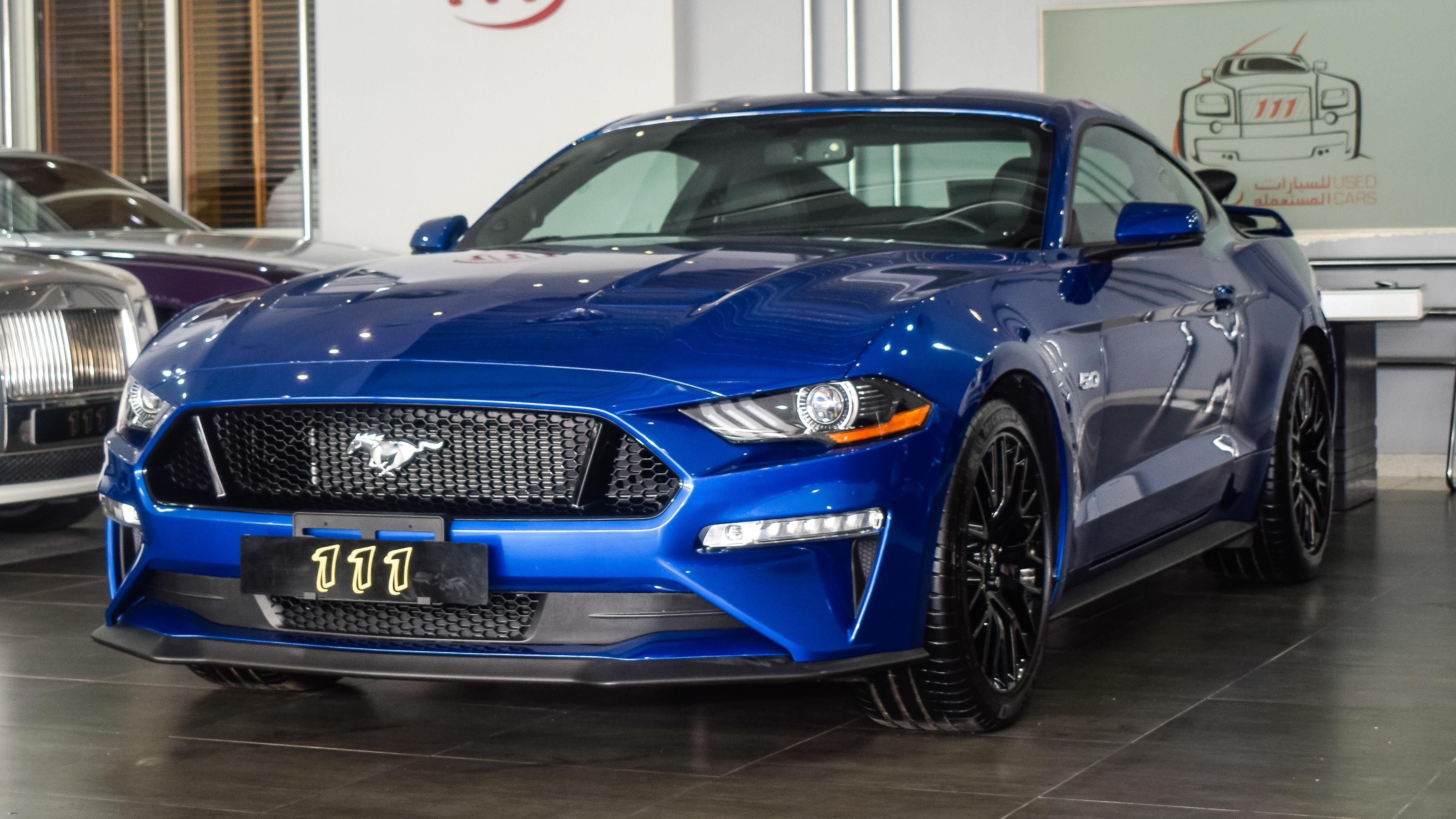 Model Ford Mustang Gt Premium 5 0 V8 Year 2018 Km 3 000 Price