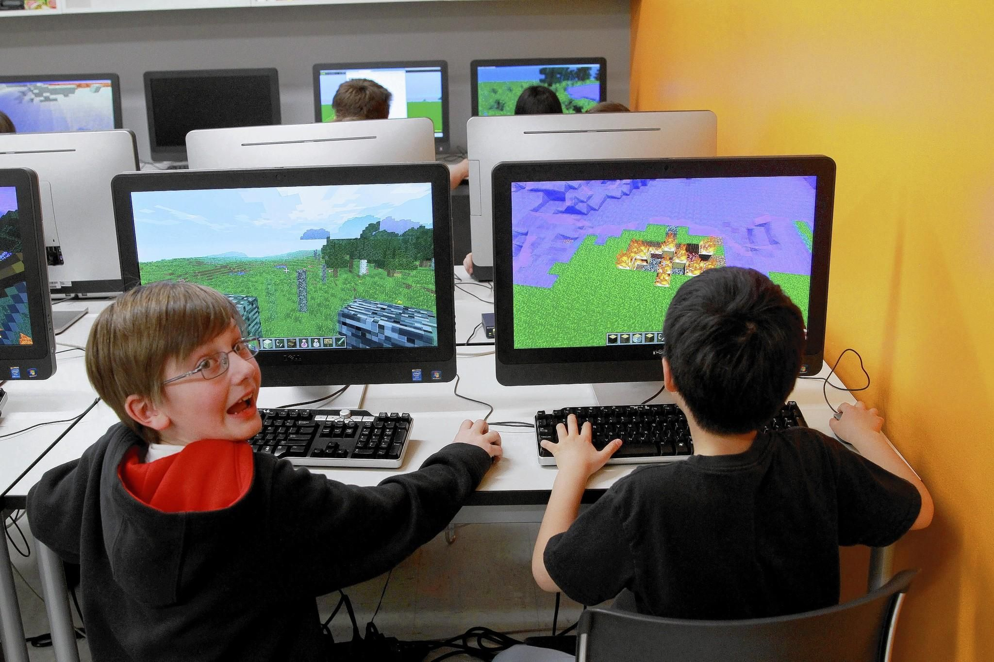 Video game 'Minecraft' finds a home in schools