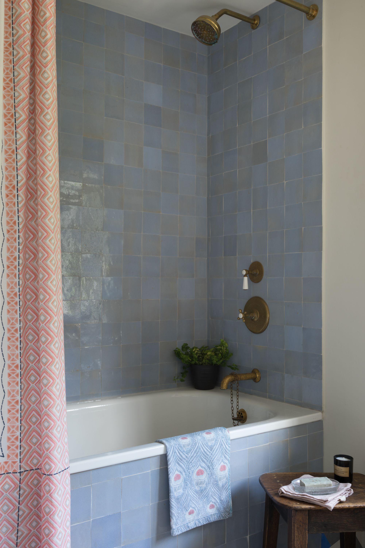 Blue Zellige Tiles Have Plenty Of Colour Variation In Them The