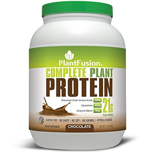 Plantfusion Complete Protein Powder Chocolate No Soy Or Rice 30 Servings 21g Protein 2lb Tub Plant Based Protein Powder Complete Plant Proteins Plant Protein