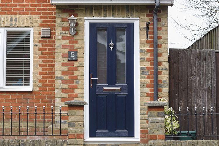 Amazing Apeer Composite Front Door, Addlestone, Surrey   Thames Valley Windows
