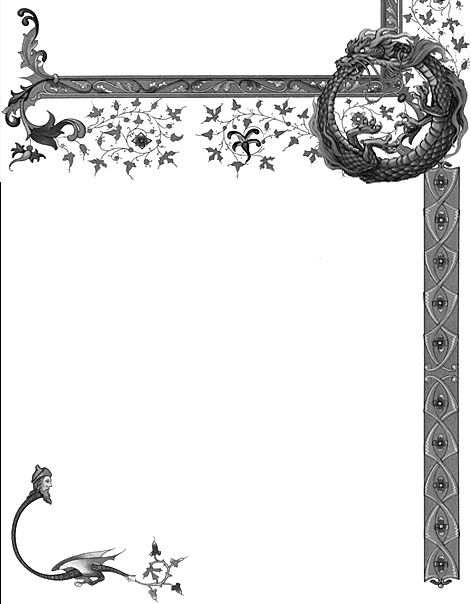Graphic pages by Grim of Cauldron Craft Oddities, c 2013