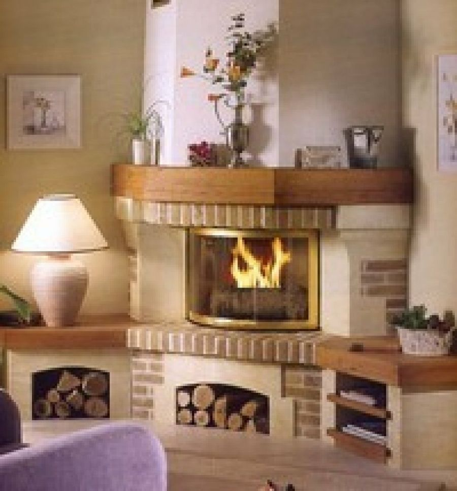 Ideas de chimeneas gallery of chimeneas modernas ideas lamparas led with ideas de chimeneas - Chimeneas de interior ...