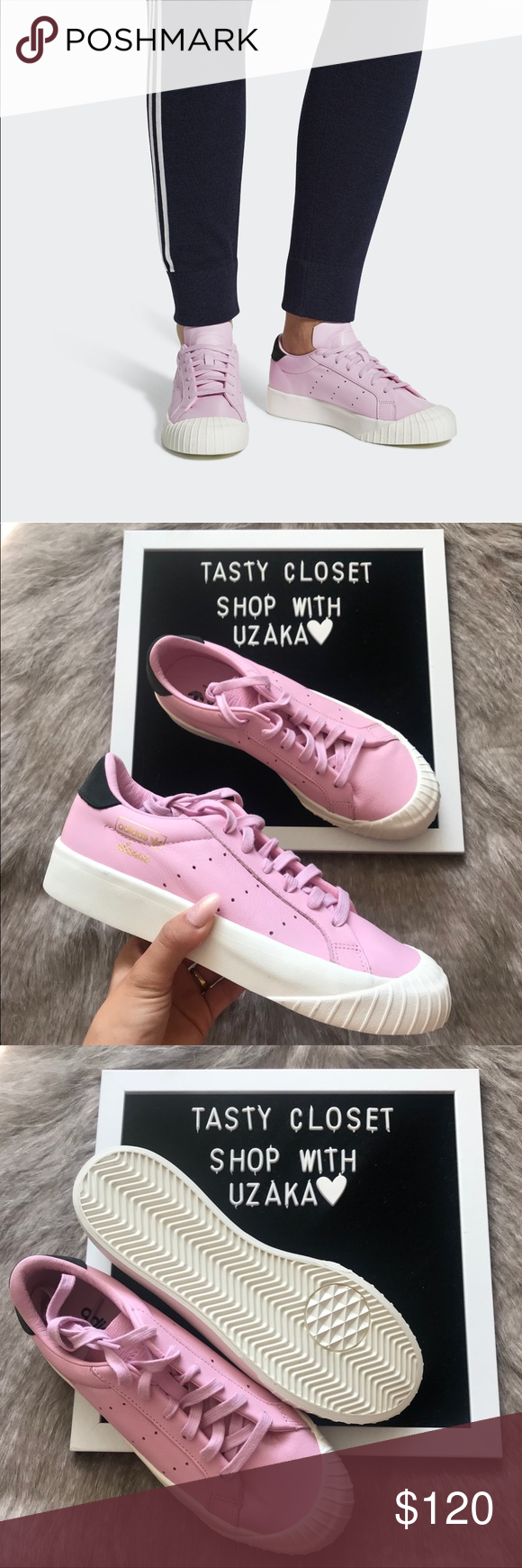 promo code 8bd41 7e459 Adidas everyn sneakers Adidas everyn sneakers New with box, without lid Wonder  pink adidas Shoes Sneakers